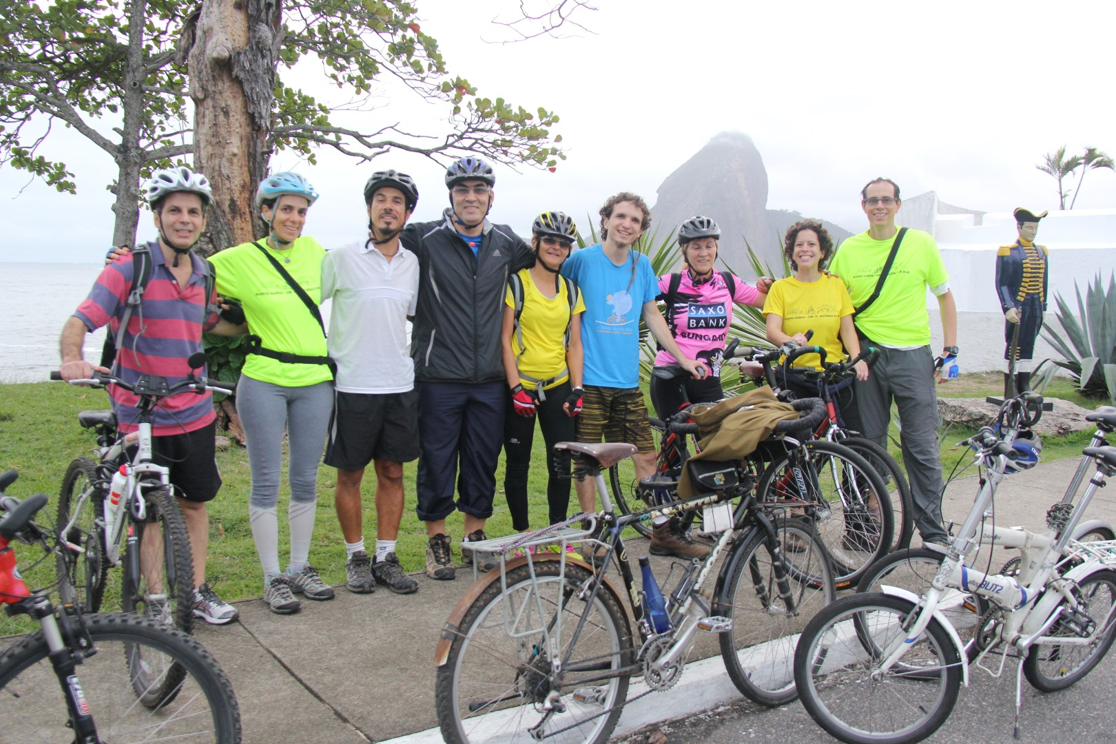 Último passeio de bicicleta por Niterói até a Fortaleza de Santa Cruz