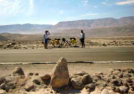 No deserto do Atacama